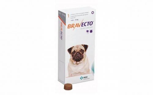 Bravecto Chewy Tablet for Small Dog - (>4.5-10Kg)