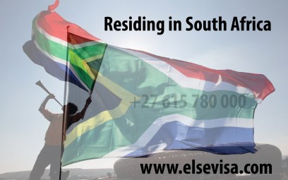 Residing in South Africa