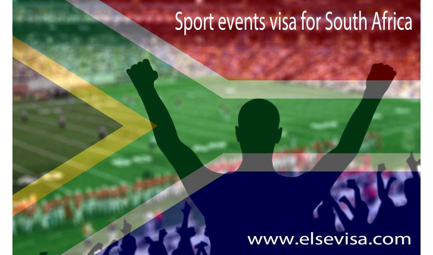 Sport events visa for South Africa