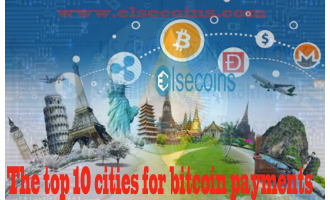 The top 10 cities for bitcoin payments